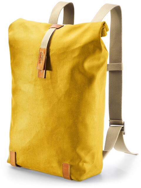Brooks Pickwick Canvas - Mochila bicicleta - 26l amarillo